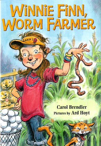 Winnie Finn, Worm Farmer, illustrated by Ard Hoyt (FSG)