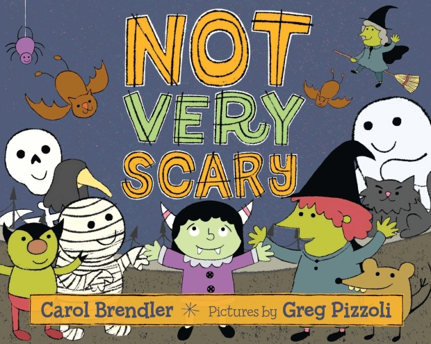 NOT VERY SCARY Illustrated by Greg Pizzoli, coming July, 2014