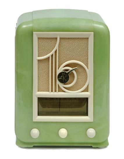 Mullard Green Bakelite Radio