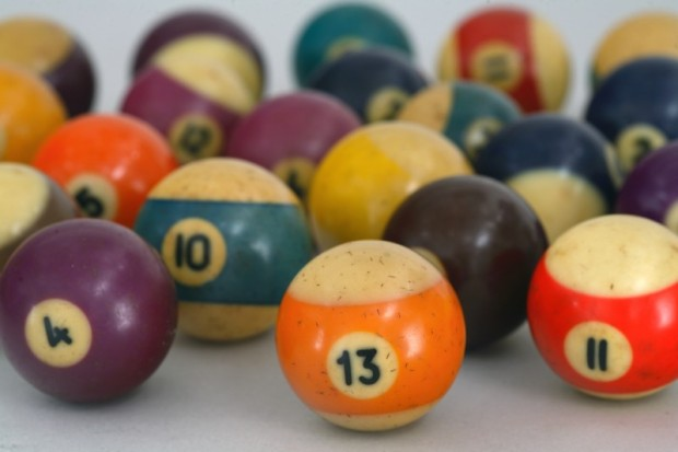 Bakelite Billiard Balls