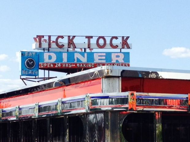 Sounds of the Tick Tock Diner, Clifton, New Jersey.