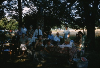 Killey Family Picnic, 1958